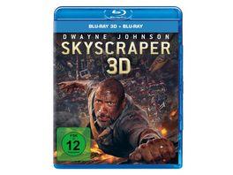 Skyscraper Blu ray 2D