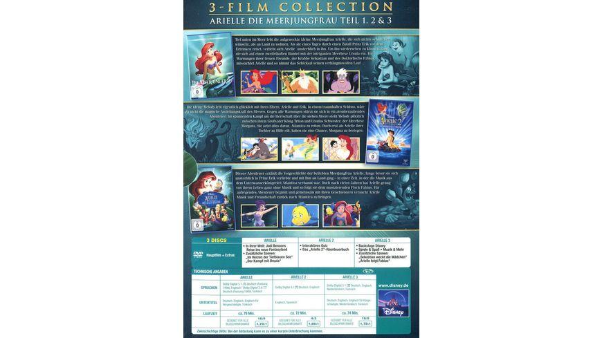 Arielle die Meerjungfrau Dreierpack Disney Classics 2 3 Teil 3 DVDs