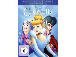 Cinderella Dreierpack Disney Classics 2 3 Teil 3 DVDs