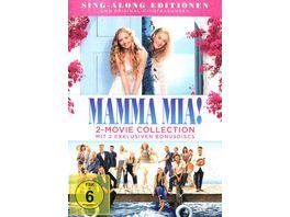 Mamma Mia Mamma Mia Here we go again 2 Bonus Discs 2 DVDs