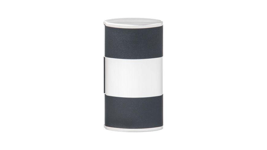 Manikuere Etui 4 teilig silber schwarz