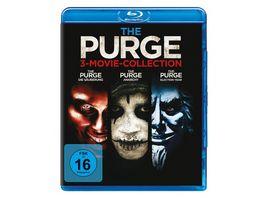 The Purge Trilogy 3 BRs