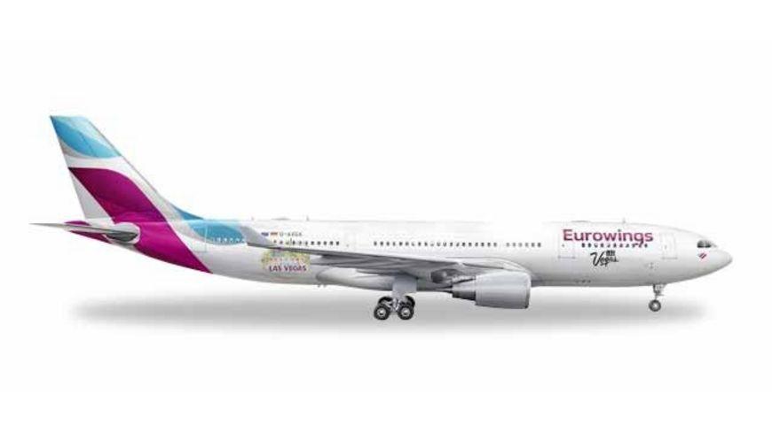 Herpa Wings 531436 Eurowings Airbus A330 200 Las Vegas D AXGF