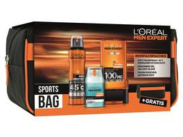 L OREAL PARIS MEN EXPERT Sports Bag Geschenkset