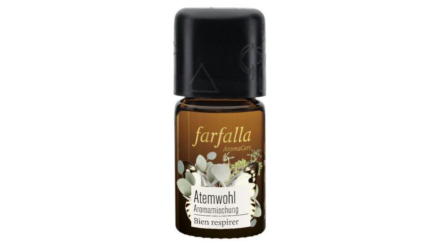 Farfalla bleib gesund Sandelholz Atemwohl Aromamischung
