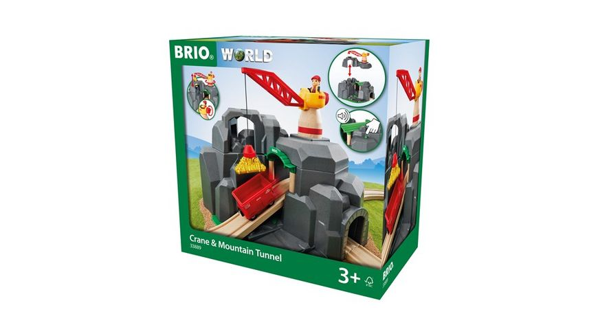 BRIO Bahn Grosse Goldmine mit Soundtunnel