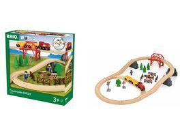 BRIO Bahn Countryside Hill Set