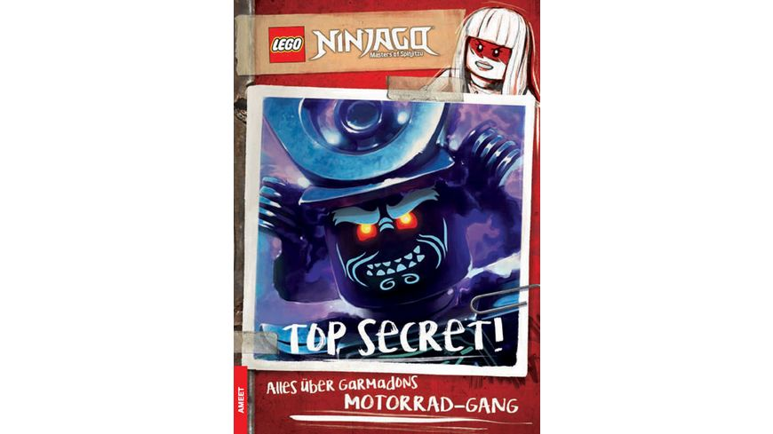 LEGO NINJAGO TOP SECRET Alles ueber Garmadons Motorrad Gang