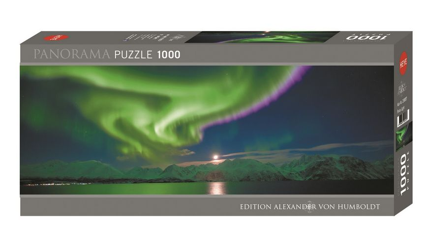 Heye Panoramapuzzle 1000 Teile Polar Light