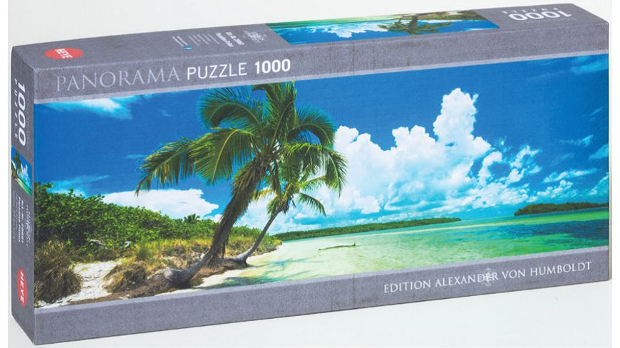 Heye Panoramapuzzle 1000 Teile Paradise Palms