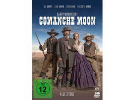 Comanche Moon Alle 3 Teile 2 DVDs