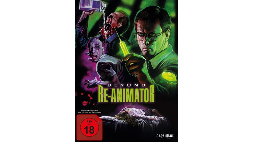 Beyond Re Animator Uncut 3 Disc Limited Colletor s Edition im Mediabook DVD