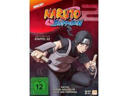 Naruto Shippuden Staffel 22 Itachis wahre Geschichte Licht und Finsternis Folgen 671 678 3 DVDs
