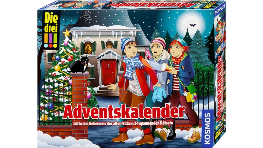 kosmos die drei adventskalender 2018 online bestellen m ller. Black Bedroom Furniture Sets. Home Design Ideas