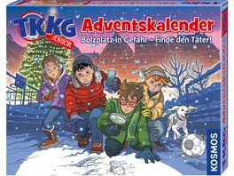 KOSMOS TKKG junior Adventskalender Bolzplatz in Gefahr