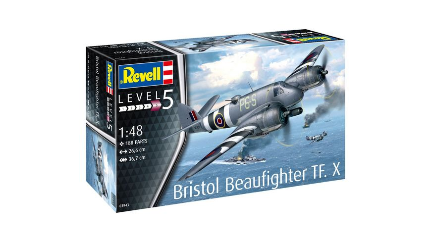 Revell 03943 Bristol Beaufighter TF X
