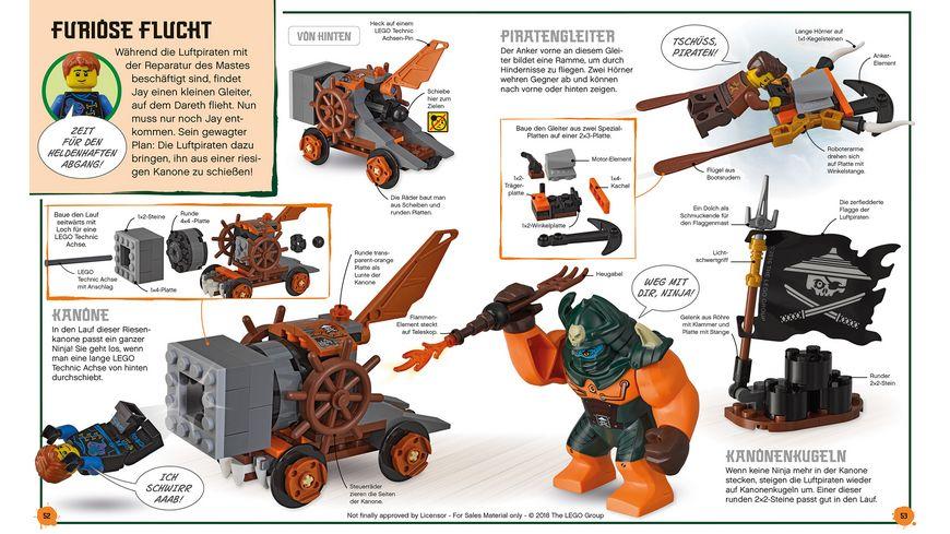 LEGO NINJAGO Abenteuer selbst gebaut Die groessten Duelle