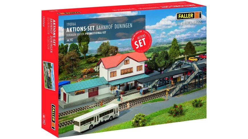 Faller 190066 H0 Aktions Set Bahnhof Duningen