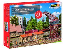 Faller 190065 H0 Aktions Set Gueterverladung