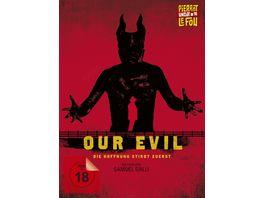 Our Evil DVD Limitiertes und serialisiertes Mediabook