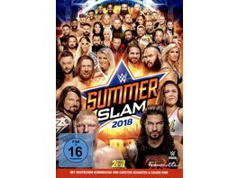 WWE SUMMERSLAM 2018 2 DVDs