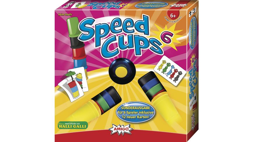 Amigo Speed Cups 6