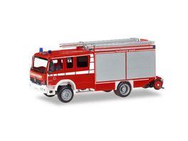 Herpa 093750 Mercedes Benz Atego HLF Freiwillige Feuerwehr Essen Mitte