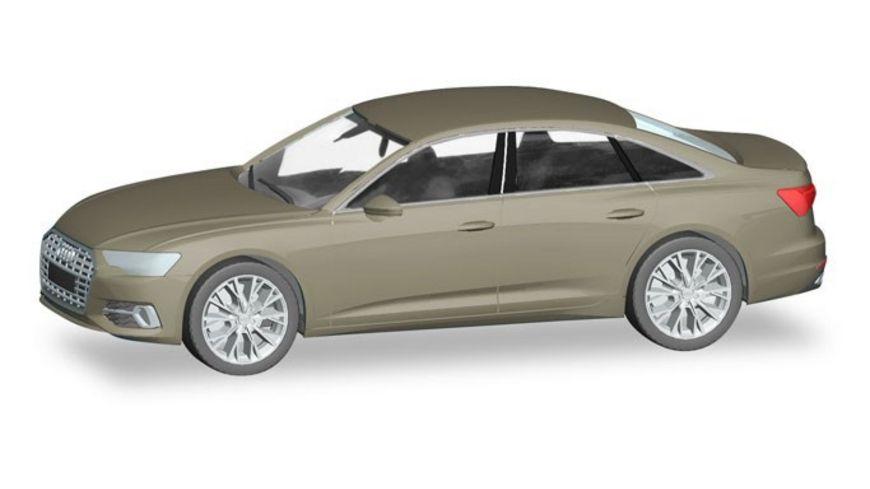 Herpa 430630 Audi A6 Limousine karatbeige metallic
