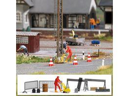 Busch Modellbahnzubehoer Action Set Asphaltsaege