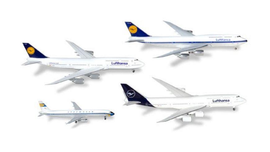 Herpa Wings 531313 Lufthansa 4 in 1 Set