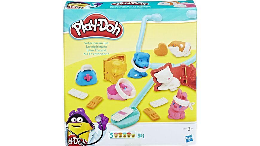 Hasbro Play Doh Tierarzt Set
