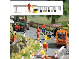 Busch Modellbahnzubehoer Action Set Ruettelplatte