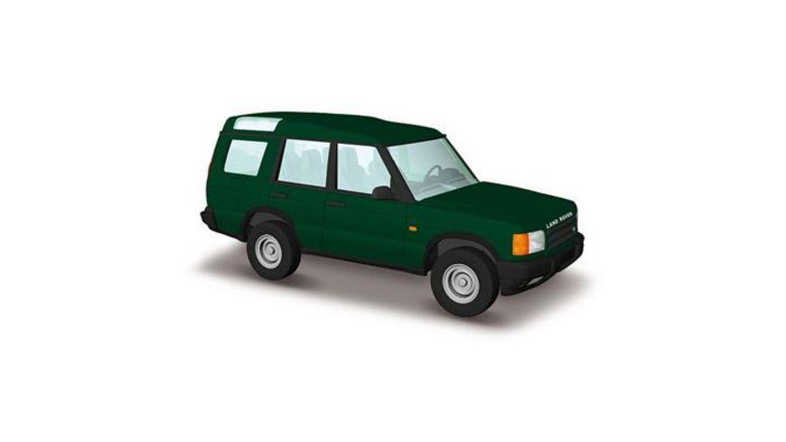 Busch Automodelle Land Rover Discovery Gruen