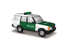 Busch Automodelle Land Rover Discovery Polizei
