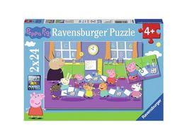 Ravensburger Spiel Peppa in der Schule 24 Teile