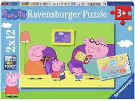 Ravensburger Puzzle Zuhause bei Peppa und Peppa Pig 12 Teile