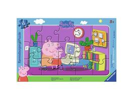 Ravensburger Puzzle Peppa am Computer 15 Teile