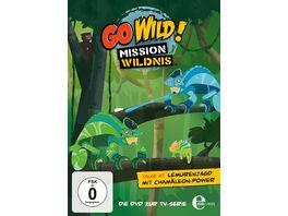 Go Wild Mission Wildnis Folge 27 Lemurenjagd mit Chamaeleon Power Die DVD zur TV Serie