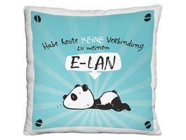Hope und Gloria Pluesch Kissen mit Panda Motiv E LAN 45676