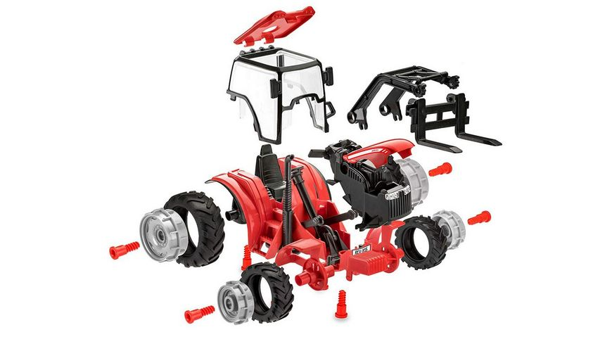 Revell 00815 Junior Kit Traktor mit Lader und Figur