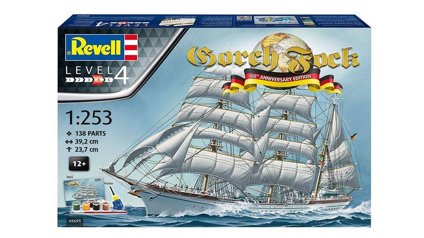 Revell 05695 Gorch Fock 60Th Annivers