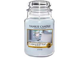 YANKEE CANDLE Grosse Duftkerze im Glas A CALM AND QUIET PLACE