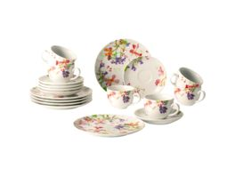 Villeroy Boch Kaffee Flower Meadow Set 18 tlg