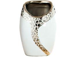 GILDE Keramik Ovalvase Cerosa 12x18