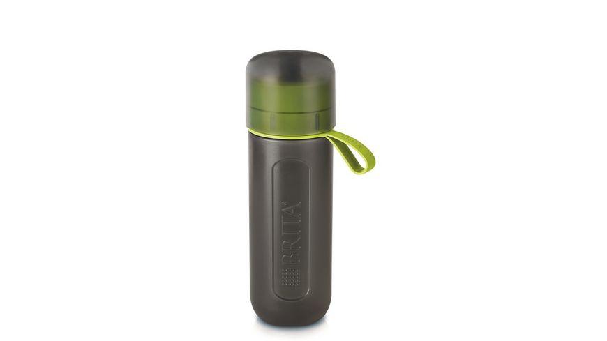 BRITA fill go Wasserfilter Flasche Active limone
