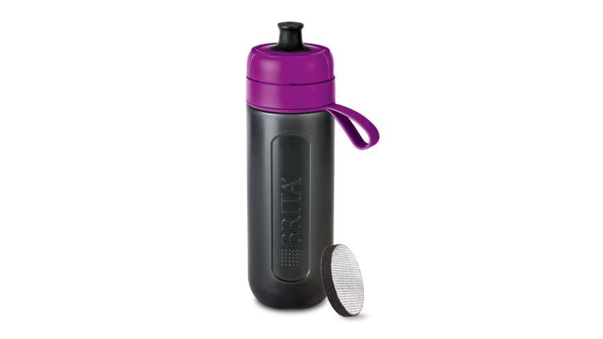 BRITA fill go Wasserfilter Flasche Active lila