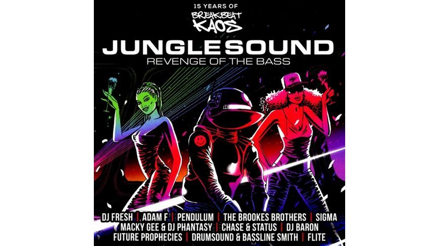 Junglesound Revenge Of The Bass 15 Years Of BBK