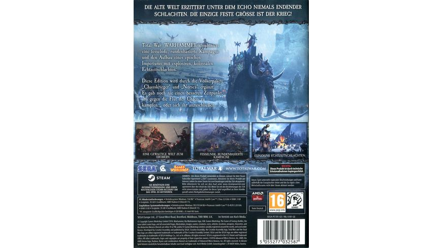 Total War Warhammer Dark Gods Edition