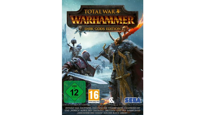 Total War Warhammer Dark Gods Edition