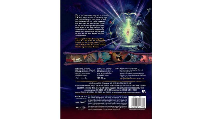 Mrs Brisby und das Geheimnis von NIMH Mediabook Blu ray DVD